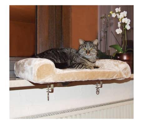 Kerbl Lit de rebord de fenêtre pour chats Beige 36 x 56 cm 82656[3/6]