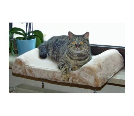 Kerbl Lit de rebord de fenêtre pour chats Beige 36 x 56 cm 82656[5/6]