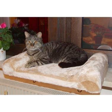 Kerbl Lit de rebord de fenêtre pour chats Beige 36 x 56 cm 82656[4/6]