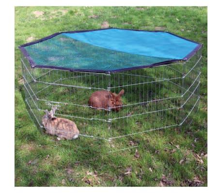 Kerbl Zunanja Ograda za Male Živali Osemkotna 82708[1/3]