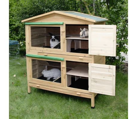 Kerbl Maison pour rongeurs Appartment 118 x 61 x 130 cm Bois[4/9]