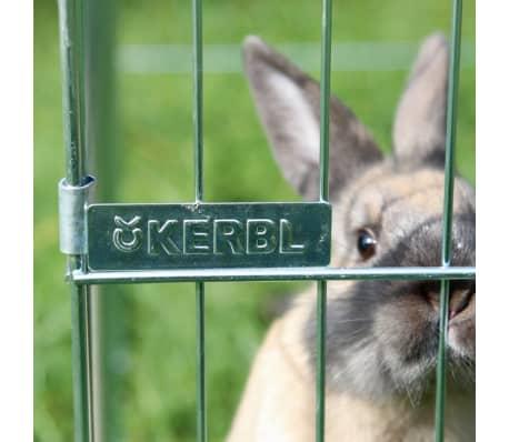 Kerbl Enclos pour animaux de compagnie Easy Métal Argenté 82845[7/8]