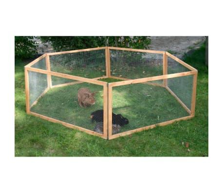 Kerbl Enclos extérieur pour animaux de compagnie Vario Bois 84399[1/3]