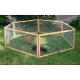 Kerbl Lauko aptvaras naminiams gyvūnams Vario, rudas, mediena, 84399