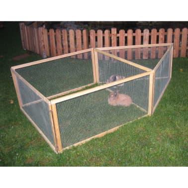 Kerbl Enclos extérieur pour animaux de compagnie Vario Bois 84399[2/3]