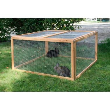 Kerbl Enclos extérieur pour animaux de compagnie Vario Bois 84399[3/3]