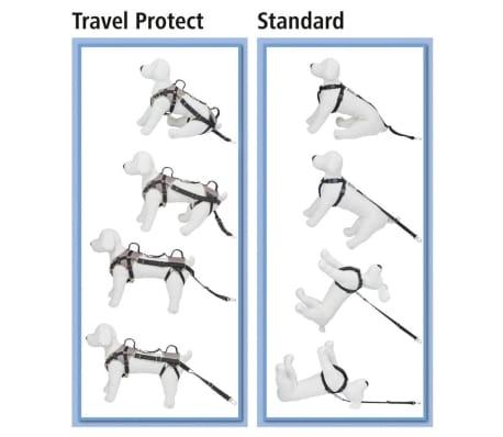 Kerbl Arnés de seguridad Travel Protect talla S 30-35 cm gris 81337[6/6]