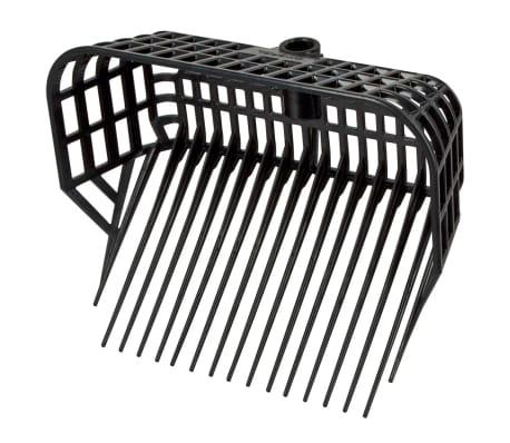 Kerbl Cabeza de horquilla para estiércol Maxi color negro 326056