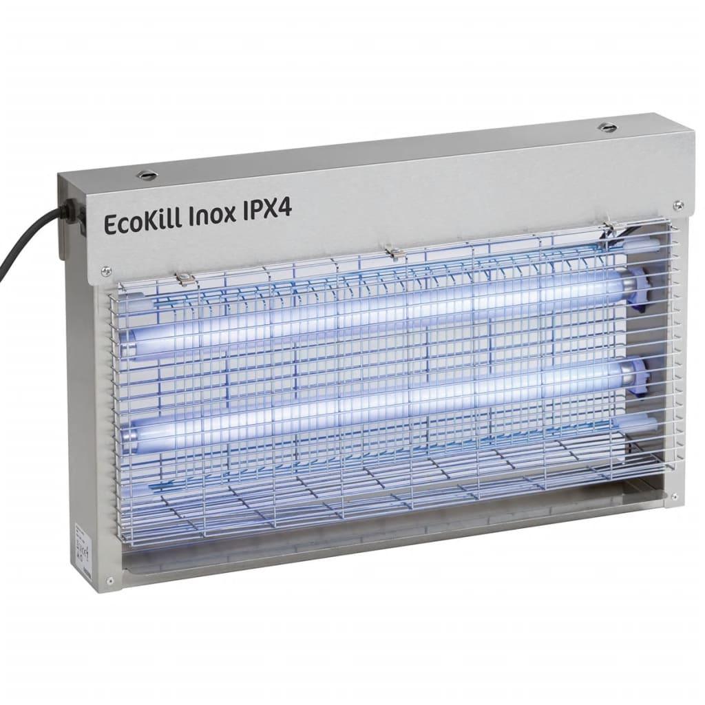 """Kerbl Appareil électrique anti-moustiques """"EcoKill Inox IPX4"""" 2 x 15 W 299935 2"""