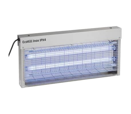 Kerbl Matamosquitos eléctrico EcoKill Inox IPX4 2x20 W 299936[1/2]