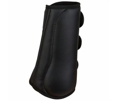 Kerbl Beenbeschermers paard zwart voorbenen 320129[2/3]