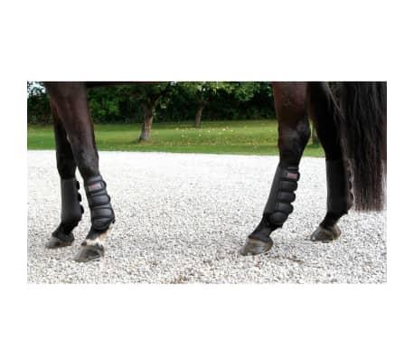 Kerbl Beenbeschermers paard zwart achterbenen 320130[3/4]