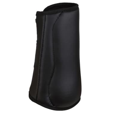 Kerbl Beenbeschermers paard zwart achterbenen 320130[2/4]