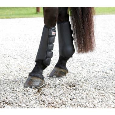 Kerbl Beenbeschermers paard zwart achterbenen 320130[4/4]