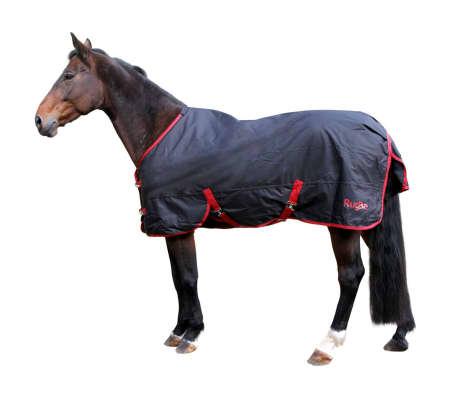 acheter kerbl couverture de cheval rugbe zero 1 noir 115 cm 328663 pas cher. Black Bedroom Furniture Sets. Home Design Ideas