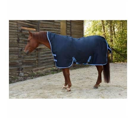 acheter kerbl couverture de cheval rugbe highneck bleu 125 175 cm 328664 pas cher. Black Bedroom Furniture Sets. Home Design Ideas