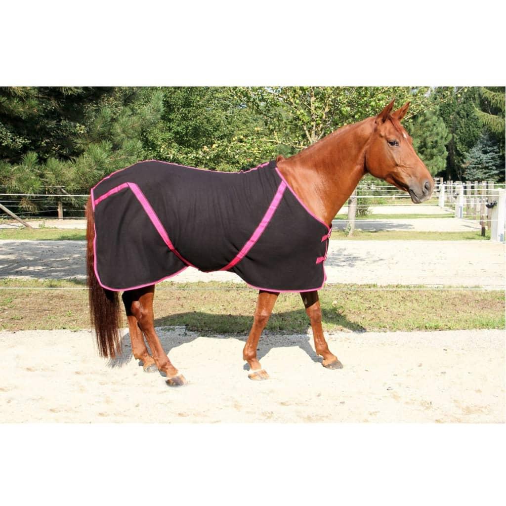 Kerbl Fleece deken RugBe Classic zwart 125 cm 328685