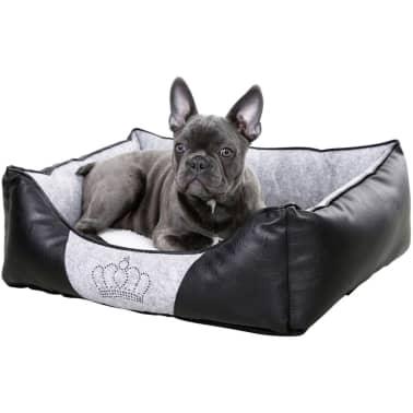 Kerbl Lit pour chiens Chiara 55 x 45 cm Gris et noir 80361[2/4]