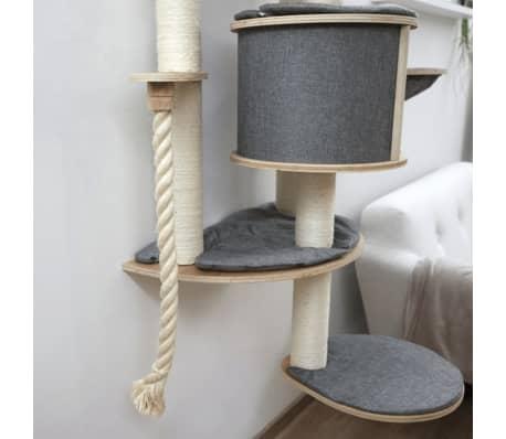 Kerbl tiragraffi da parete gatti dolomit 2 0 tofana grigio - Tiragraffi da esterno ...