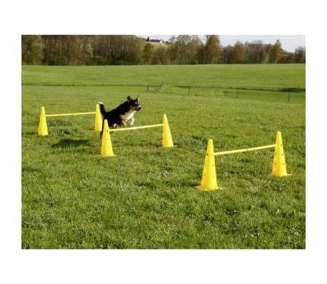 Kerbl Ensemble de cônes-obstacles d'agilité Jaune 81994[6/7]