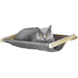 Kerbl Wall-Mounted Cat Hammock Tofana 45x40 cm Grey 81544