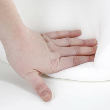 Kerbl Matelas en mousse à mémoire de forme Ovale 72x52cm Beige et gris[2/3]