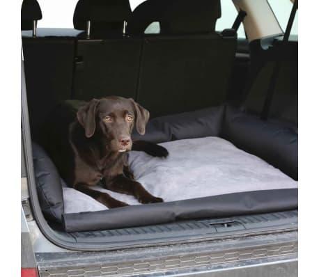 Kerbl Lit de voiture pour chiens 95x75x16 cm Gris et noir 80584[2/5]