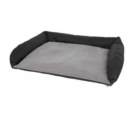 Kerbl Lit de voiture pour chiens 95x75x16 cm Gris et noir 80584[3/5]
