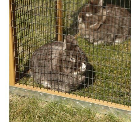 Kerbl Enclos pour lapins Pro 115x85x90 cm Bois 81720[5/10]