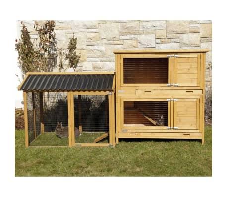 Kerbl Enclos pour lapins Pro 115x85x90 cm Bois 81720[8/10]