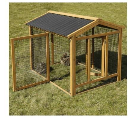 Kerbl Enclos pour lapins Pro 115x85x90 cm Bois 81720[10/10]