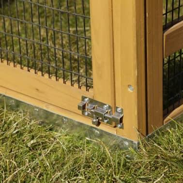 Kerbl Enclos pour lapins Pro 115x85x90 cm Bois 81720[4/10]