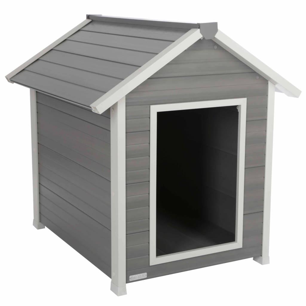 Kerbl ECO Cușcă pentru câini Hendry, gri și alb, 88 x 98 x 101 cm poza 2021 Kerbl