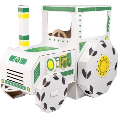 Maison de jeu Tracteur en carton[1/3]