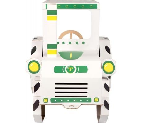 Maison de jeu Tracteur en carton[3/3]