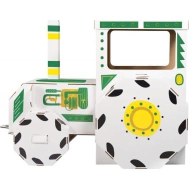 Maison de jeu Tracteur en carton[2/3]