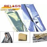 Relags aluminium teppe - Survival Blanket