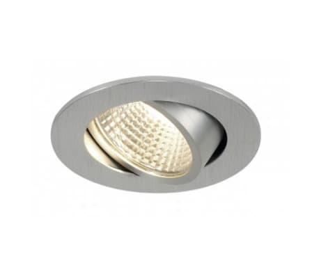 KIT NEW TRIA LED 3W DL ROND, encastré, alu brossé, 3W, 3000K, 38°,[2/2]
