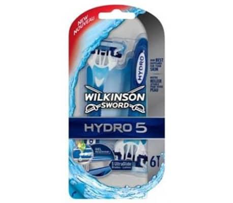 Wilkinson Sword Hydro 5 par 6 Rasoirs Jetables pour Homme