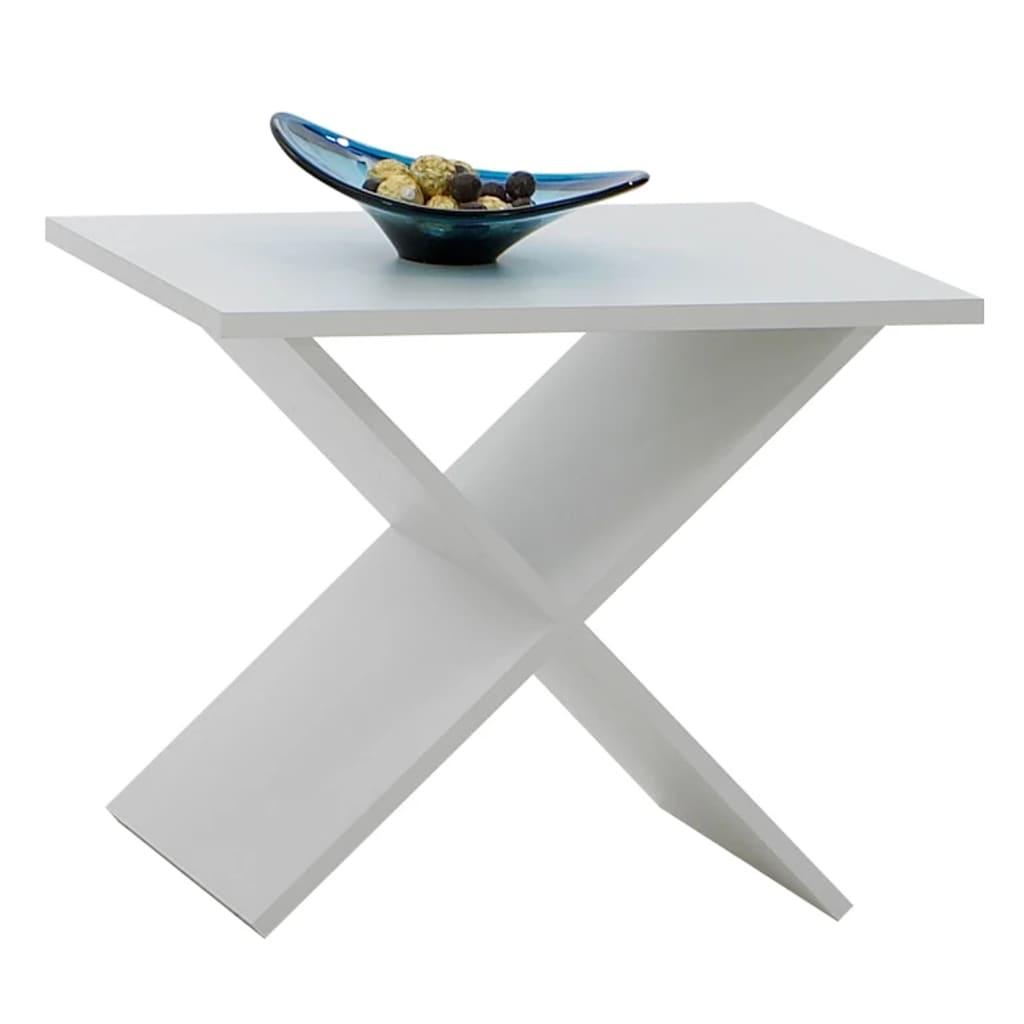 FMD sofabord hvid