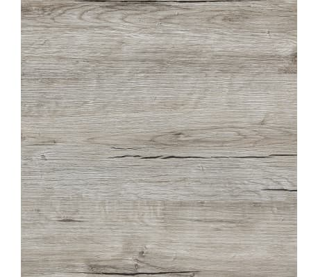 FMD Miza s stranskimi policami 117x73x75 cm peščeni hrast[3/4]