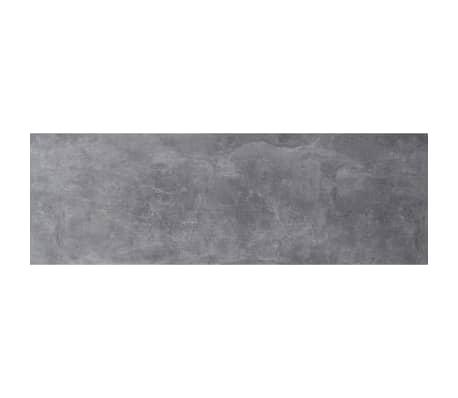 FMD Mueble zapatero con 3 compartimentos basculantes blanco y hormigón[2/3]