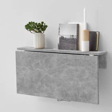 FMD Prie sienos mont. sulankstomas staliukas, betono sp.[3/6]