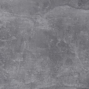 FMD Prie sienos mont. sulankst. staliukas su lentyna, betono sp.[6/6]