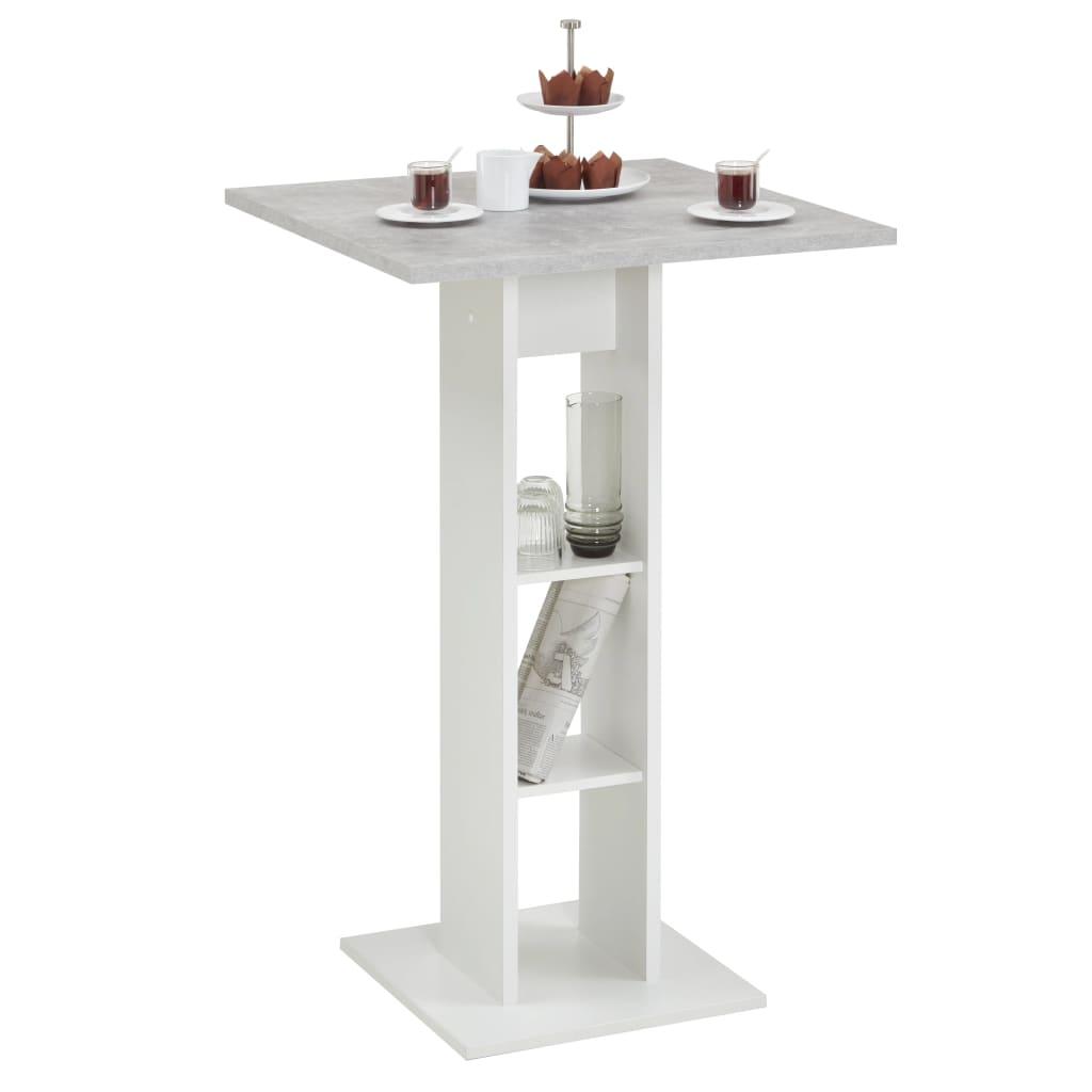 FMD barbord betongrå og hvid