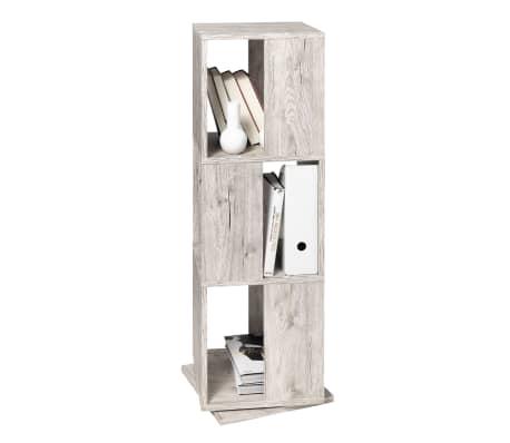 FMD Rotating Filing Cabinet Open 34x34x108cm Sand Oak