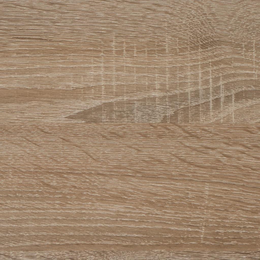 FMD Wandkapstok 72x29,3x34,5 cm eikenkleurig