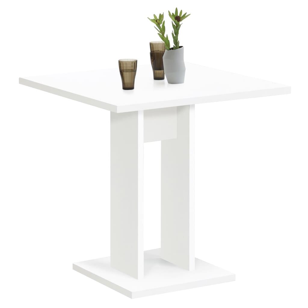 FMD Jídelní stůl 70 cm bílý