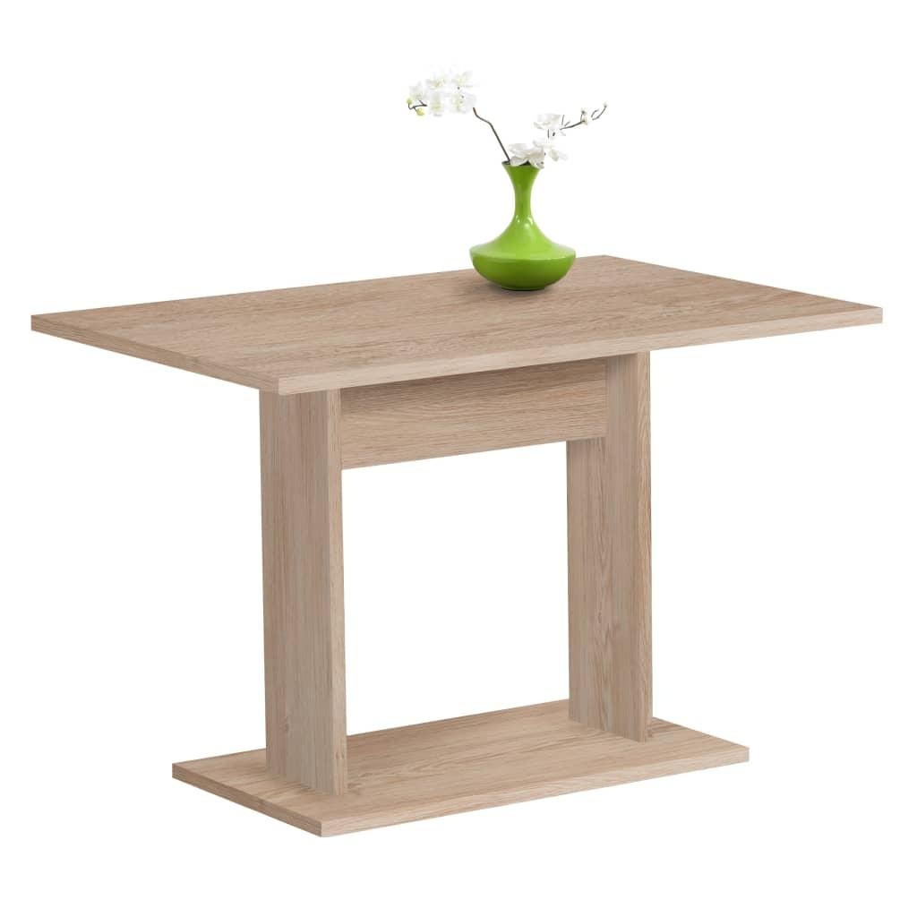 FMD Stół jadalniany, 110 cm, kolor dębowy