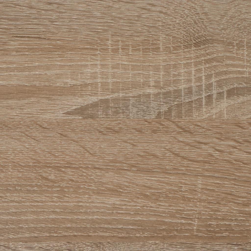 FMD Eettafel 110 cm eikenkleurig